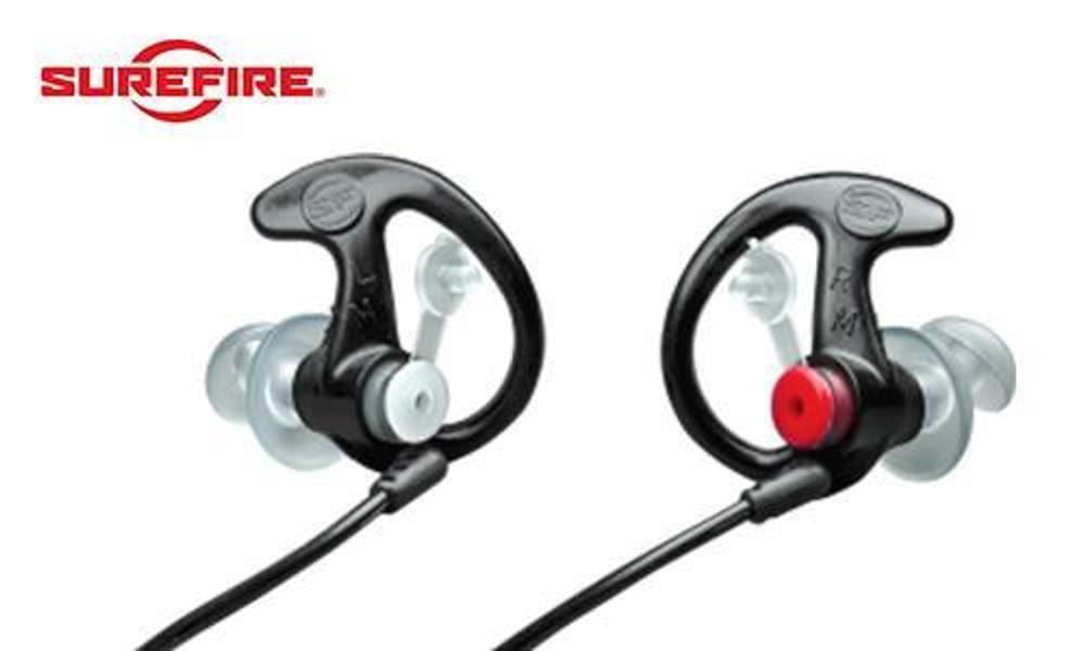 Surefire EP3 Hearing Protection Black, 24dB NRR #EP3BKMPR