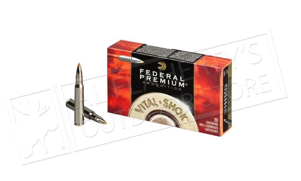 Federal Premium 300 WSM Vital Shok, Nosler Ballistic 150 Grain Box of 20 #P300WSMD