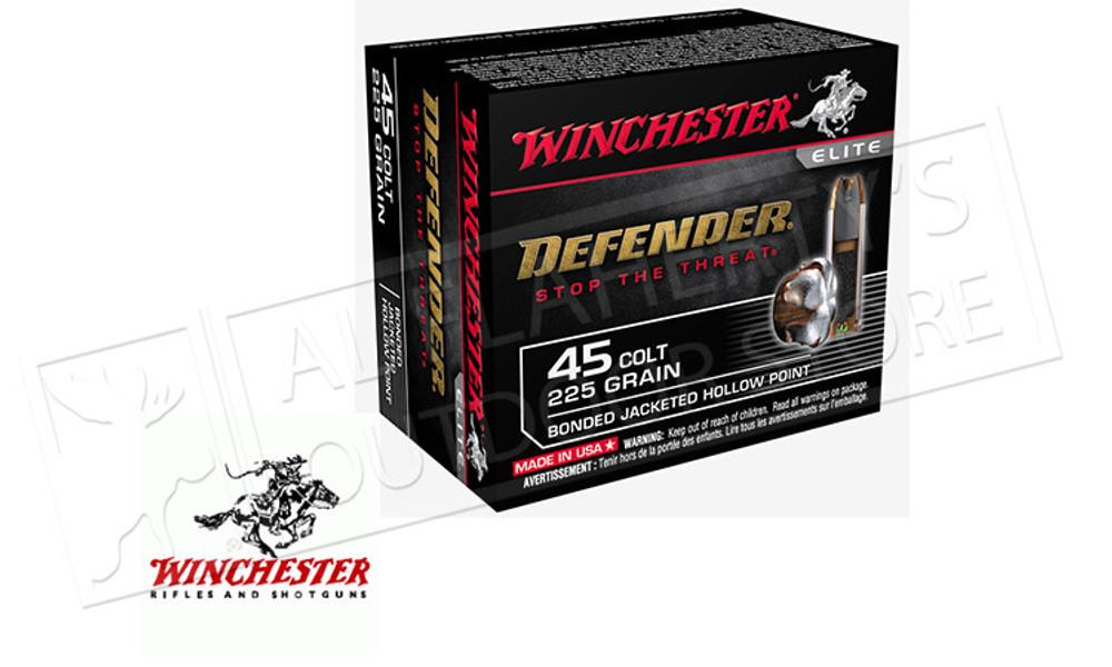 Winchester 45 Colt Defender, 225 Grains Bonded JHP