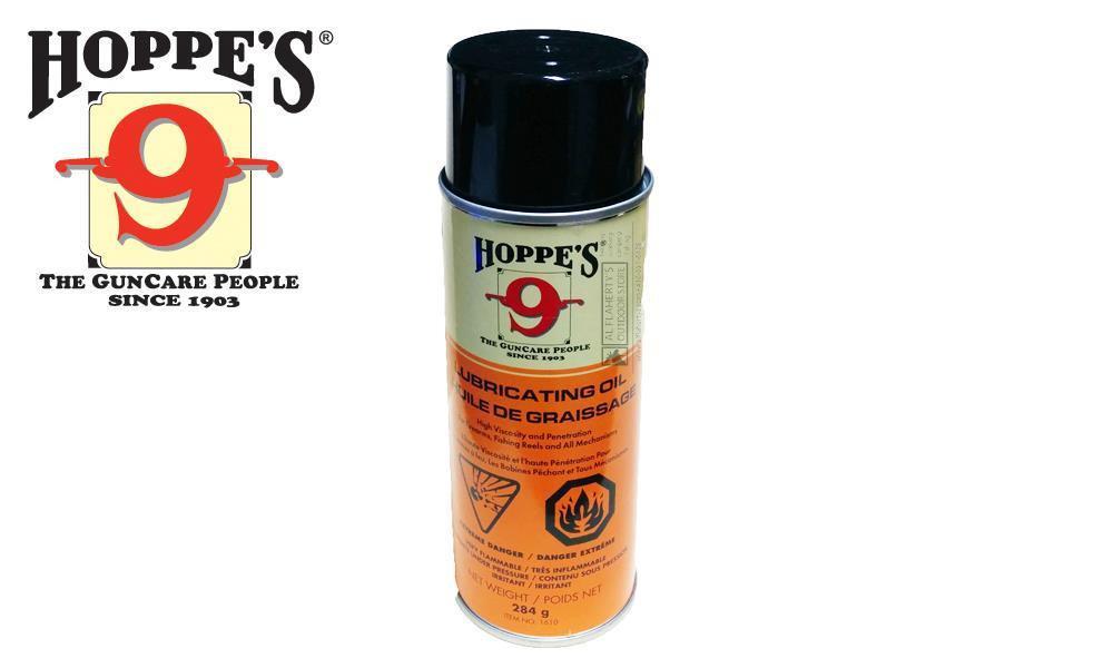 Hoppe's 9 Lubricating Oil Aerosol Can, 284g #1610
