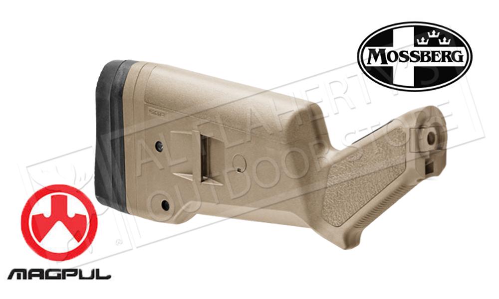 MAGPUL SGA STOCK FOR MOSSBERG 500/590/590A1 SHOTGUNS IN FLAT DARK EARTH #MAG490-FDE
