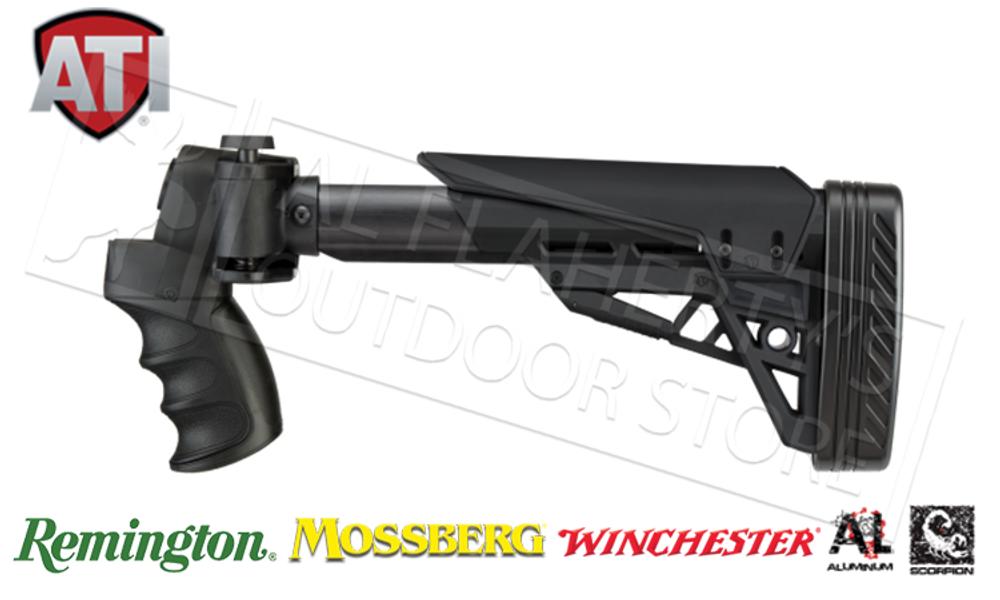 ATI STRIKEFORCE SIDE-FOLDING SHOTGUN STOCK FOR REMINGTON MOSSBERG AND WINCHEST PUMP-ACTION #B.1.10.1135