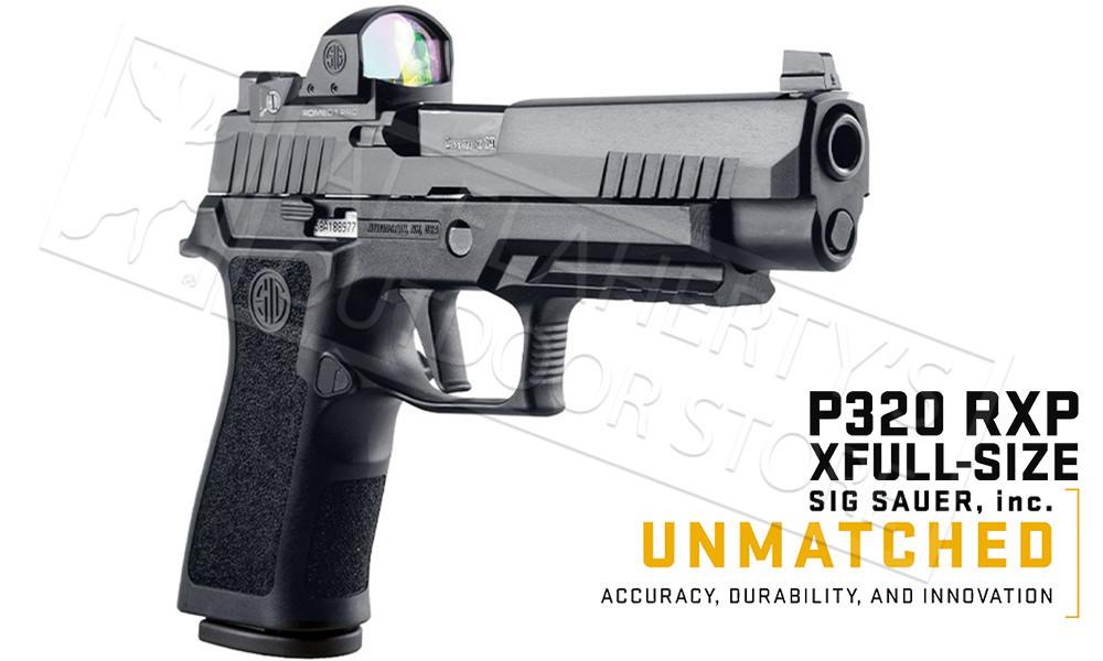 SIG Sauer Handgun P320 RXP Full-Size 9mm with ROMEO1 Pro Optic #320XF-9-BXR3-RXP