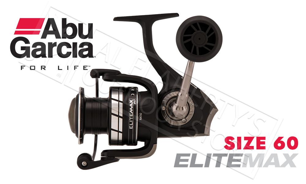Abu Garcia Elite Max Spinning Reel, Sizes 30 40 and 60 #EMAXSP