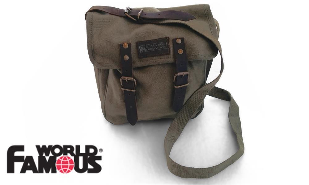 WFS COUNTY SATCHEL BAG IN OLIVE DRAB #3006 O.D.