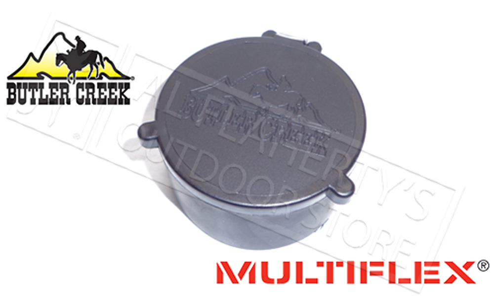 BUTLER CREEK MULTIFLEX SCOPE COVERS - OBJECTIVE PIECE, VARIOUS SIZES