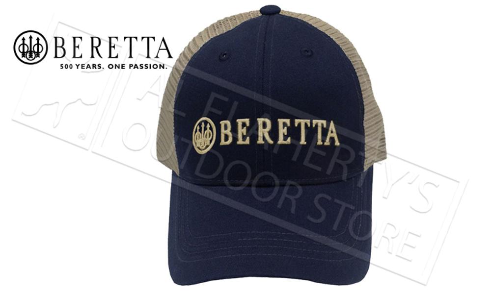 Beretta LP Trucker Hat in Navy Blue #BC05201660