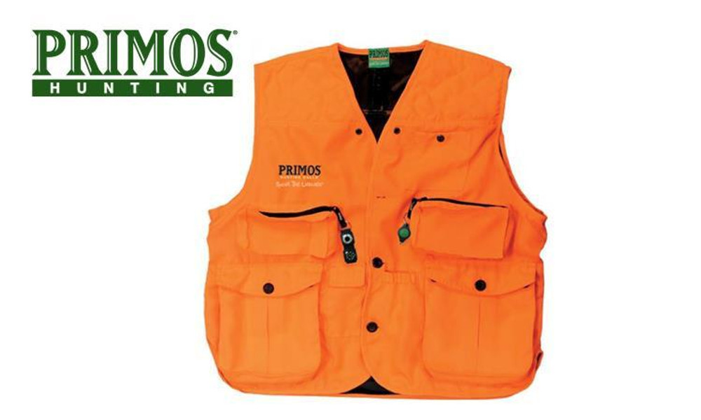 Primos Gunhunter's Vest, Blaze Orange M-3XL #65702