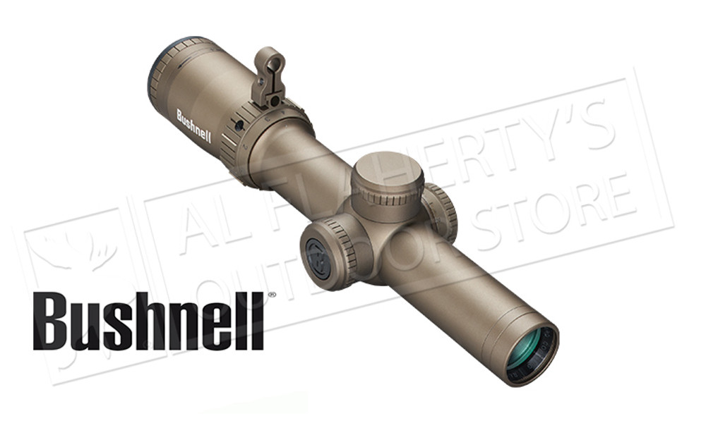 Bushnell Elite Tactical SMRS II Scope 1-6.5x24 with Illuminated Reticle FDE