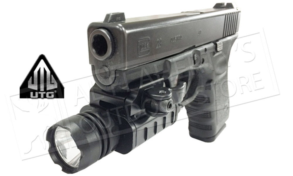 UTG 400 Lumen Compact LED Weapon Light with QD Lever Lock