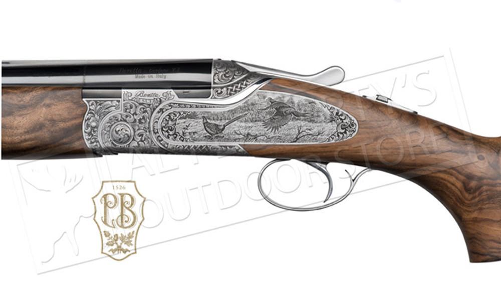 "Beretta Shotgun SL3 Over and Under 12GA 28"" Game Scene and Leather Case"