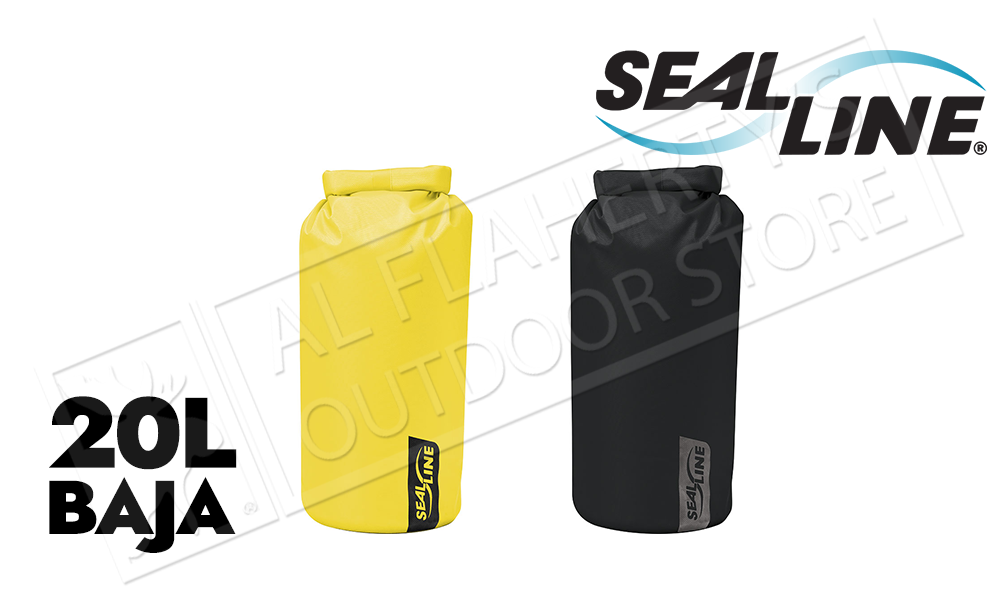 SealLine Baja Ultra Durable Dry Bag, 20 Liter #BAJA20