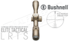Bushnell Elite Tactical LRTS 4.5-18x44mm Scope, FFP with G3 Reticle in FDE #ET45184GA