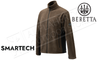 Beretta Smartech Fleece Jacket - Chocolate Brown #P3401T0654080