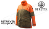 Beretta Retriever Field Jacket Tobacco/Blaze Orange #GU543T6510850