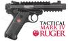 RUGER MK IV TACTICAL TARGET PISTOL 22LR
