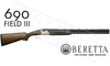 Beretta SG 690 III Field Over and Under Shotgun 12 or 20 Gauge #4W1