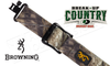 "Browning All Season Web Sling for Rifles and Shotguns, 26"" to 40"" Adjustable Mossy Oak Break-Up Country #122392825"