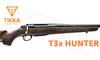 Tikka T3x Hunter Rifle, Walnut with Blued Barrel - Various Calibers