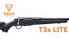 Tikka T3x Lite Rifle - Various Calibers