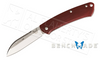 BENCHMADE 319 PROPER WITH RED G10 GRIPS #319-1