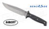 BENCHMADE 119 ARVENSIS BY SIBERT FIXED BLADE KNIFE, PLAIN EDGE G10 #119