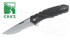 CRKT-RUGER FOLLOW-THROUGH FOLDER WITH SERRATED BLADE #R170