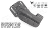 Blade-Tech Original Pro-Series Speed Rig Holster for CZ 75 SP01 Shadow, Right-Handed D/OS with ASR Mount #HOLX001379419144