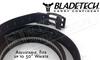 "Blade-Tech UCB Titan Belt in Black, Adjustable up to 50"" #UCB-1-1-1"