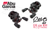 ABU GARCIA REVO SX HS BAITCASTING REELS, RIGHT OR LEFT HANDED
