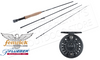 Fenwick Pflueger Night Hawk Fly Kit, 9ft 6WT or 5WT 4-Piece Rod with Reel