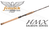 "Fenwick HMX Spinning Salmon Drift Rods, 8'6"" to 12'6"" Models"