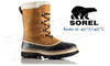SOREL CARIBOU BOOT - BUFF - MEN'S #NM100281