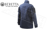 Beretta Broom Military Field Jacket in Navy Blue, Sizes 50-56 Italian #GU203T414053G