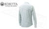 Beretta Elm Classic Country Shirt in White #LU651T13230100