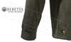 Beretta Half Zip Fleece in Chocolate, M-3XL #P3311T1434081C