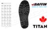 Baffin Titan Boot -100°C Black - Various Sizes #23550000001