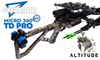 Excalibur Micro 360 TD Pro Kryptek Altitude with Tact 100 Scope and Charger Ext #E73569