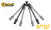 """Caldwell Accumax Carbon Fiber Bipod with Sling Swivel Stud Attachment - 9"""" to 13"""" #1092516"""