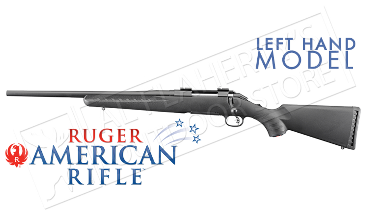 Ruger American Rifle Left Handed Version in Various Calibers