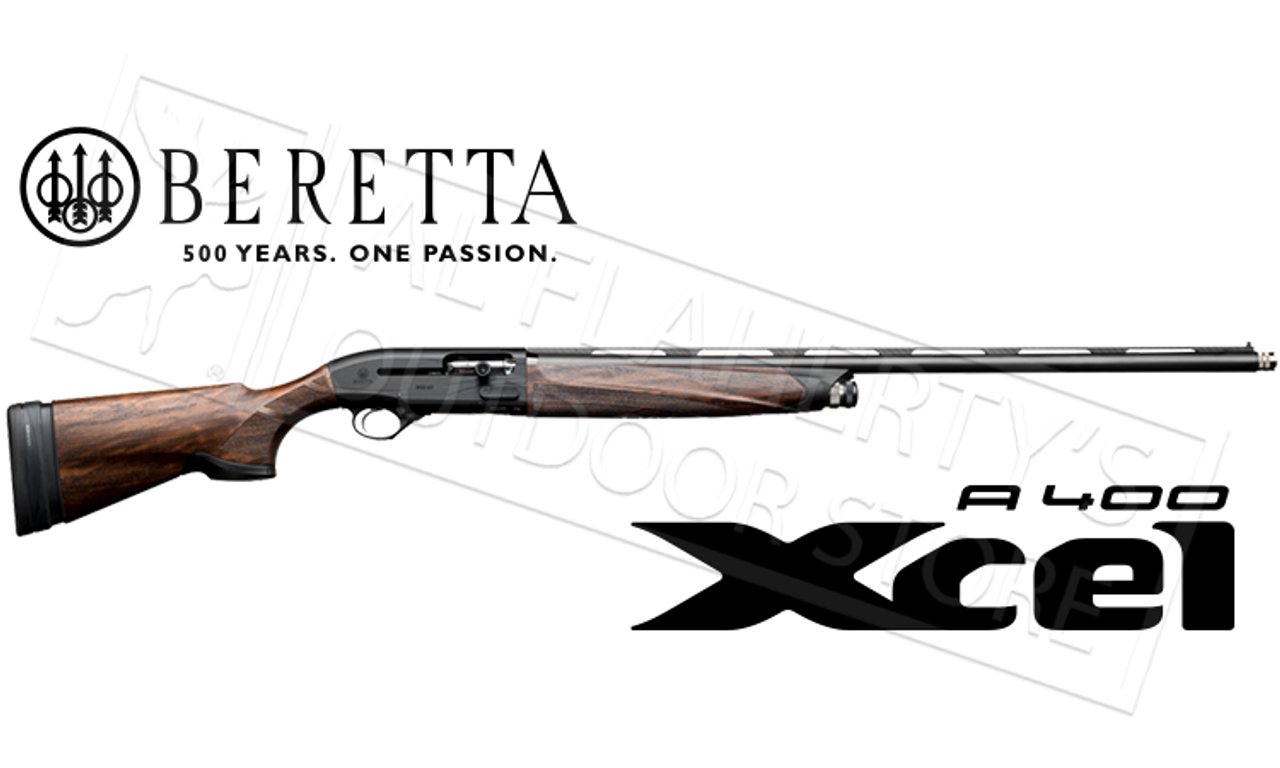 Beretta Shotgun A400 Xcel Black Edition Sporting with Kick-Off and B-Fast  Adjustable Stock