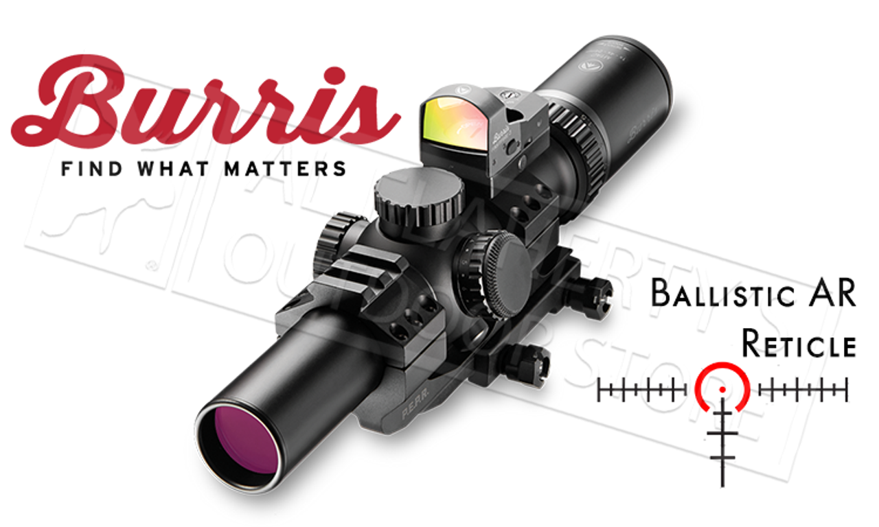 Burris Mtac Scope Combo 1 4x24mm With Fastfire 3 Sight Ar Pepr