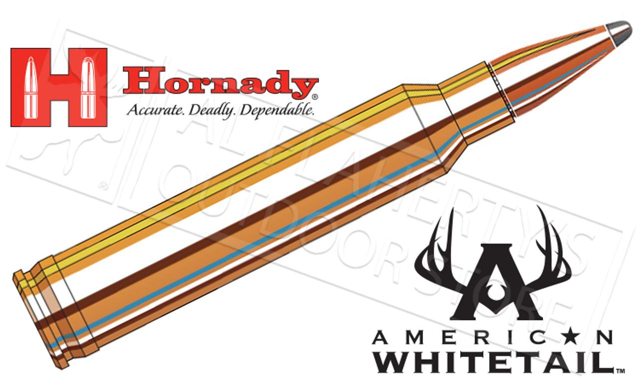 Hornady 300 Win Mag American Whitetail, InterLock SP 180 Grain Box of 20  #82044