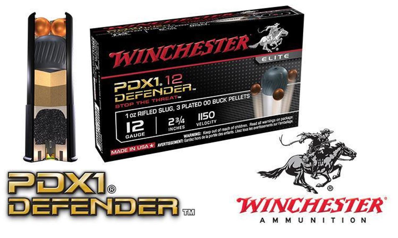 Winchester PDX1 Defender Shells 12 Gauge 2-3/4