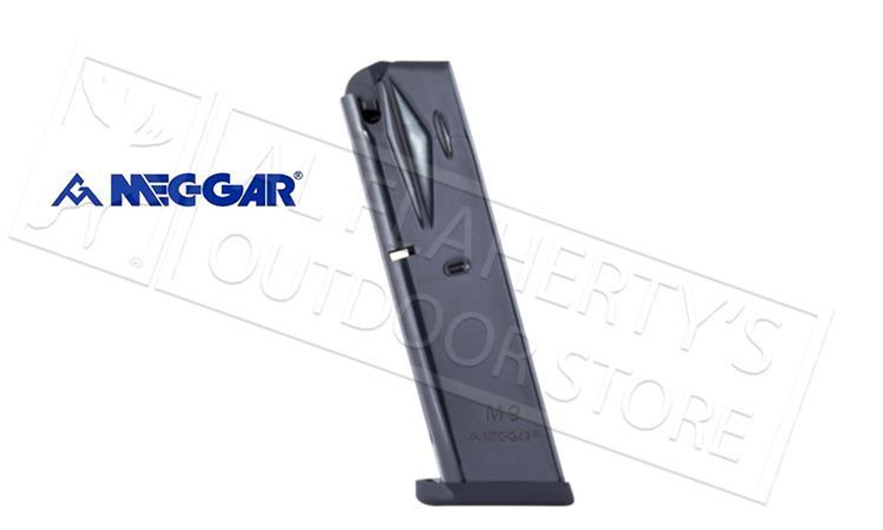 MECGAR MAGAZINE MGPB9210B Beretta 92 92FS 9mm 10 rounds