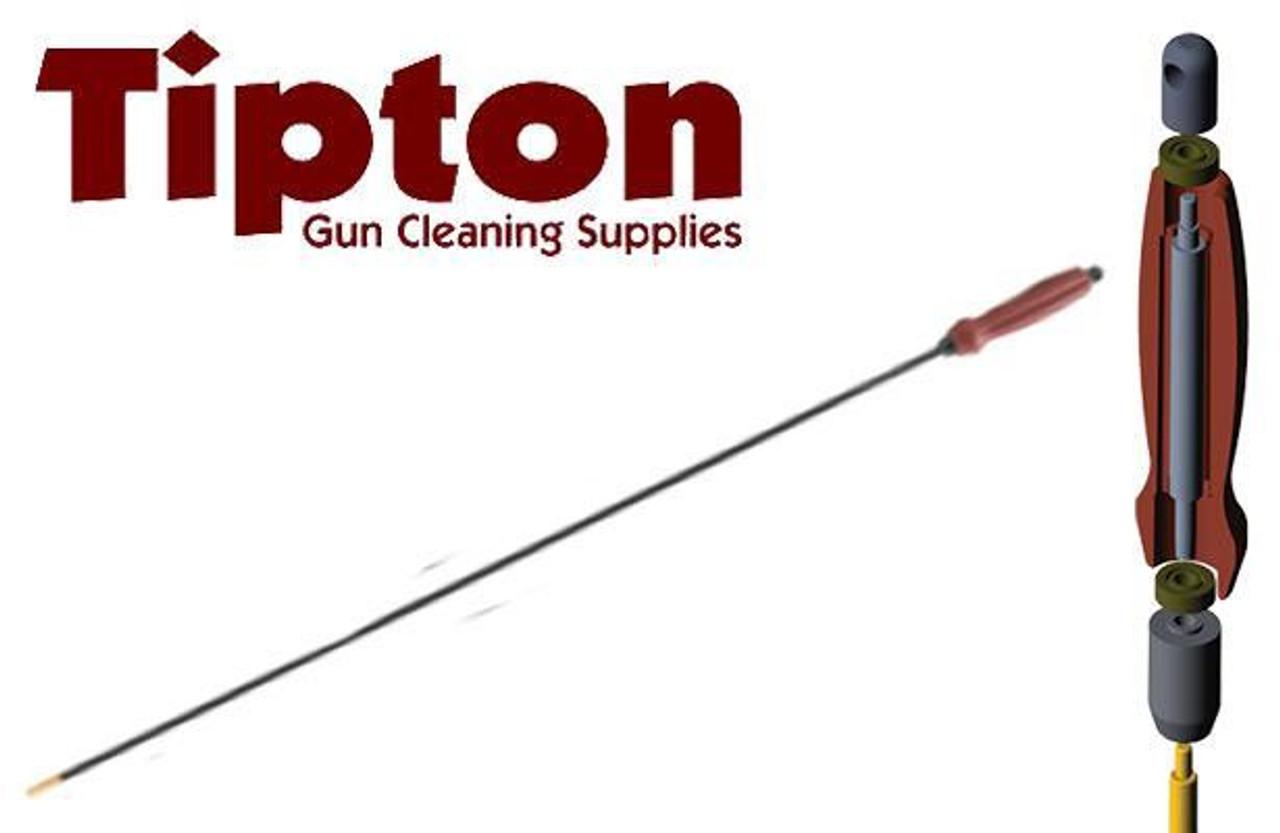 27-45 CAL 36 pollici Tipton Deluxe 1 pezzi in fibra di carbonio per la pulizia canna da pesca
