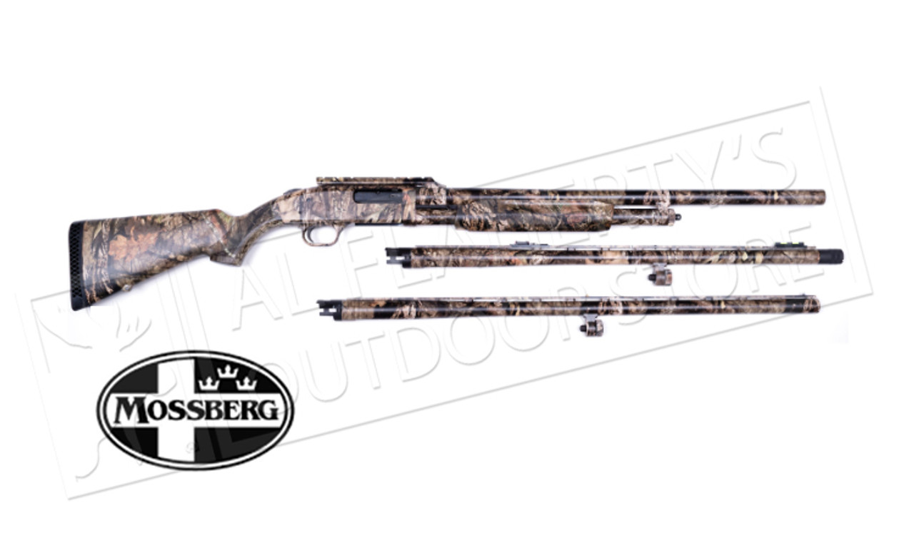 Mossberg 500 3-Barrel Combo 12 Gauge, 3