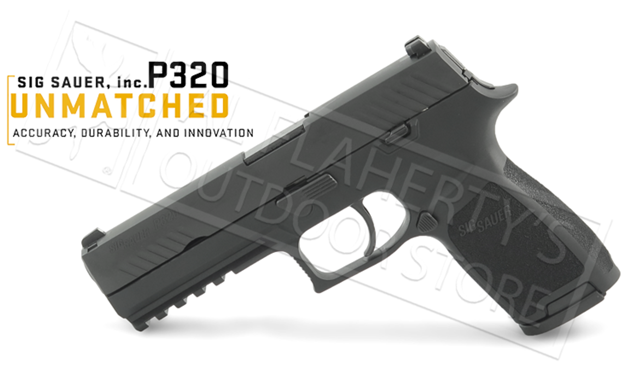 SIG Sauer Handgun P320 with Contrast Sights 9mm #320F-9-B-10