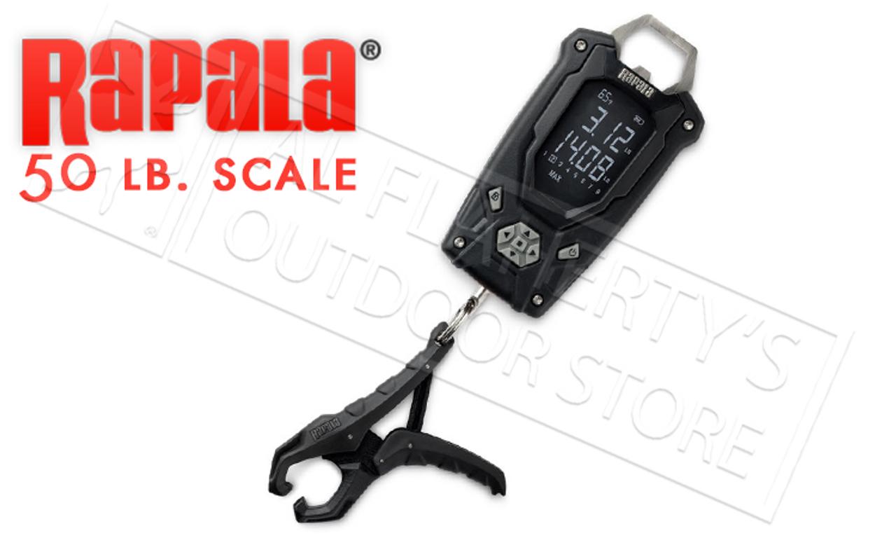 50 lbs. Rapala RHCDS50 High Contrast Digital Scale