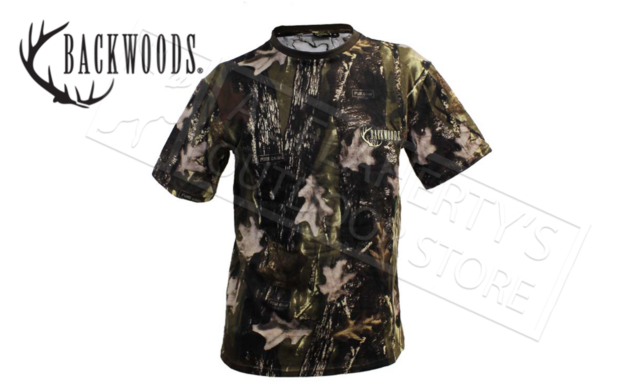 4a87517b9d5c6 Backwoods Camo T-Shirts, Sizes M-3XL - Al Flaherty's Outdoor Store